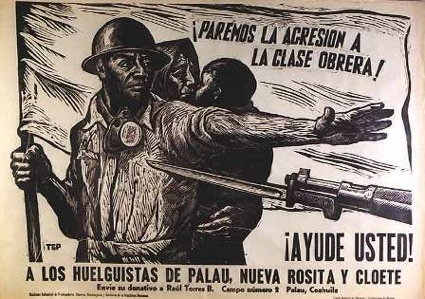 Leopoldo Méndez, Paremos la agresión a la clase obrera