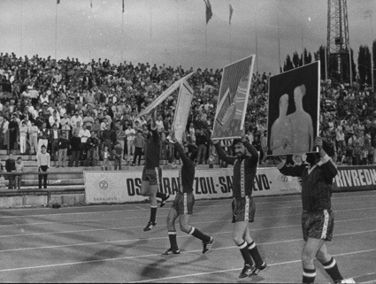 Zvono Group, Art and Soccer 1986. © ZVONO